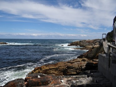 One of many views in the park along the Garden Route