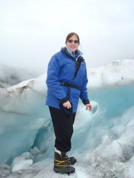 glacier hike fashion uniform