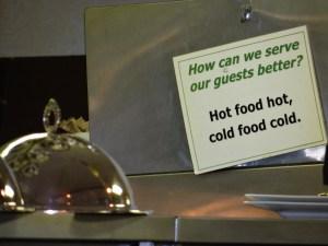 Royal York kitchen rules