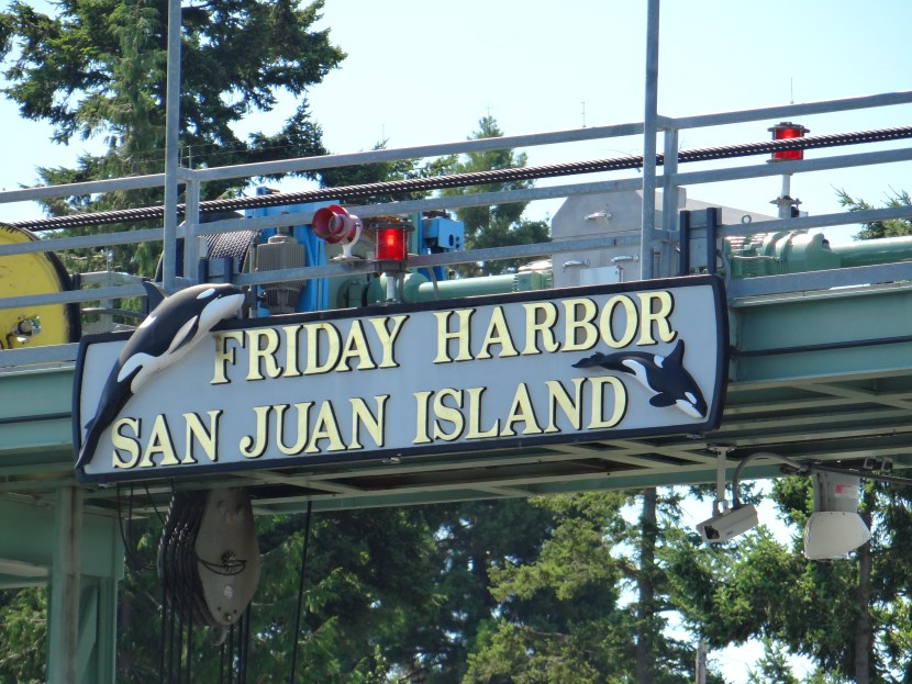 Friday Harbor welcome