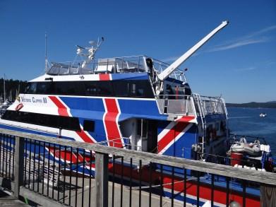 Clipper boat Seattle