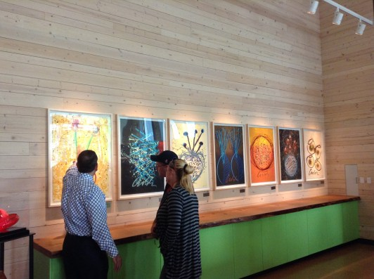 Chihuly Gift shop limited prints