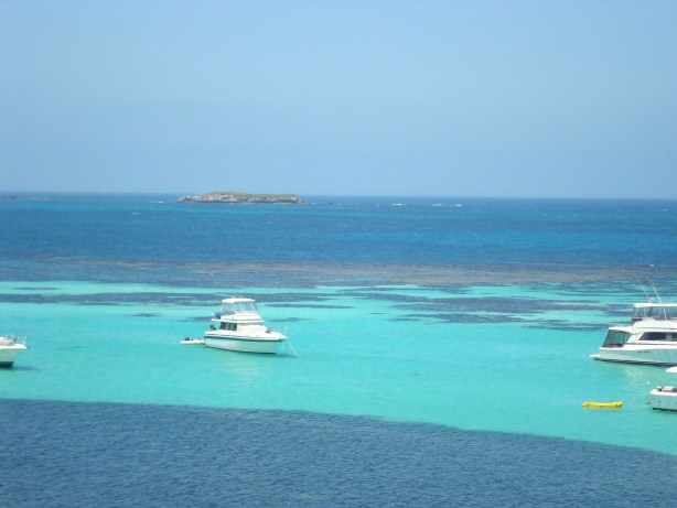 Rottnest Island Western Australia -ocean and boats