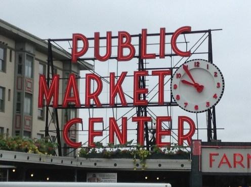 Pike Place Market Seattle - AA flight delays