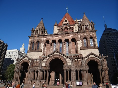 Trinity Church - Copley Square in Boston