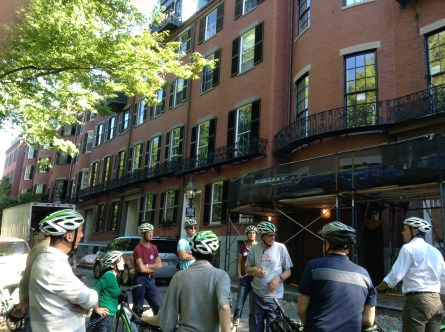 Beacon Hill bike tour stop