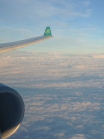 Up in the clouds with Aer Lingus cloud photos Ireland