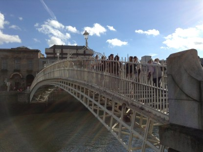 """Ha""""Penny Bridge Dublin"""