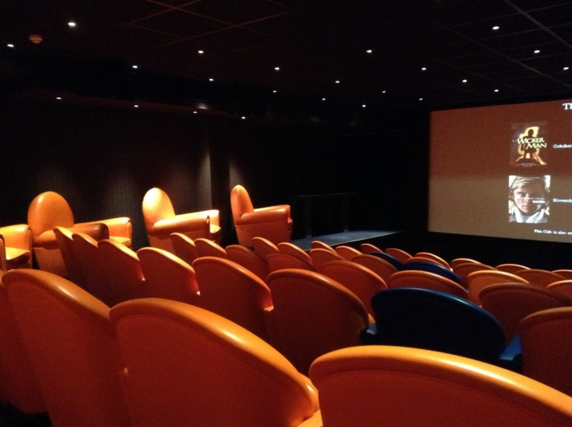 Screening Room at Charlotte Street Hotel Sunday Film Club