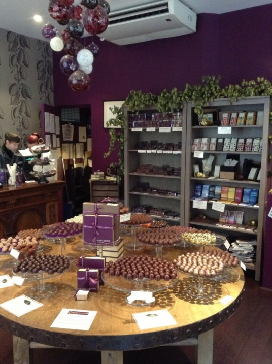 Paul A Young Chocolates in Soho London