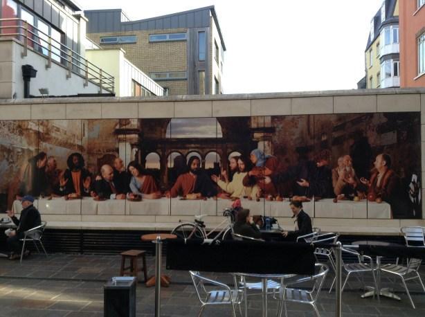 Last Supper in Dublin