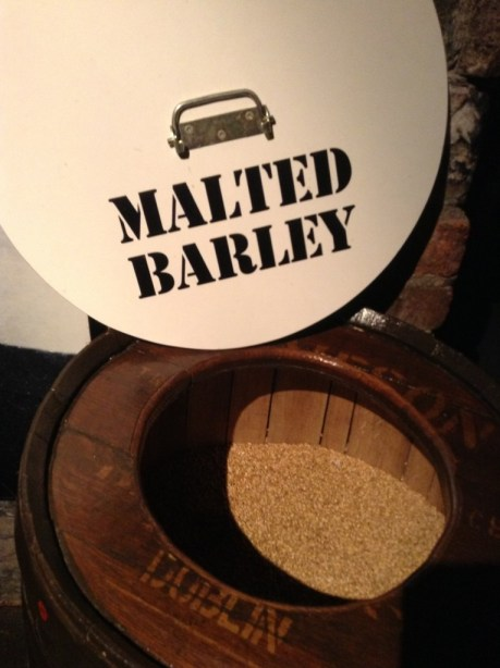Malted Barley at Jameson Whiskey