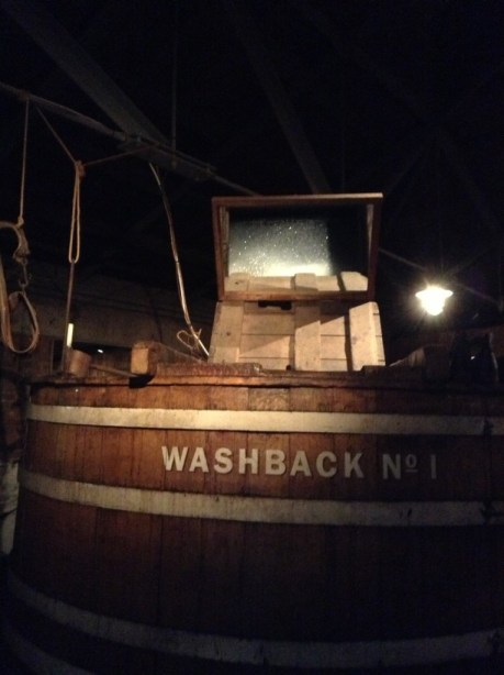 Washback at Jameson