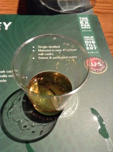 American Whiskey tasting at Jameson