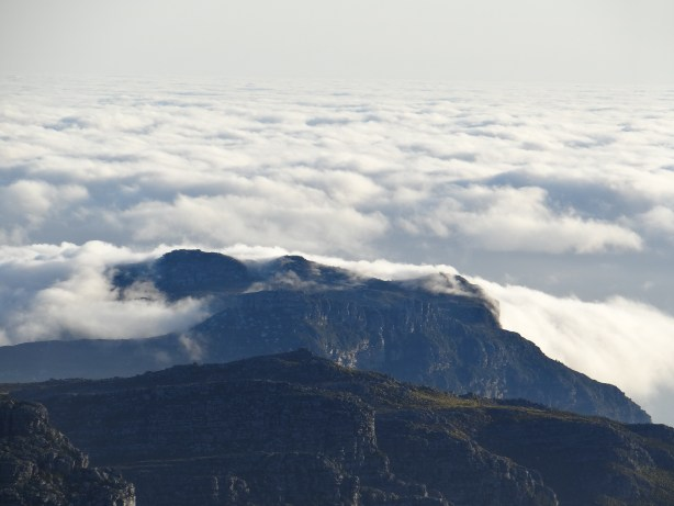 Table Mountain view of the clouds