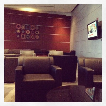 My own private area in the lounge - where to sit?