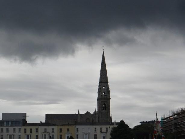 Dublin storm clouds