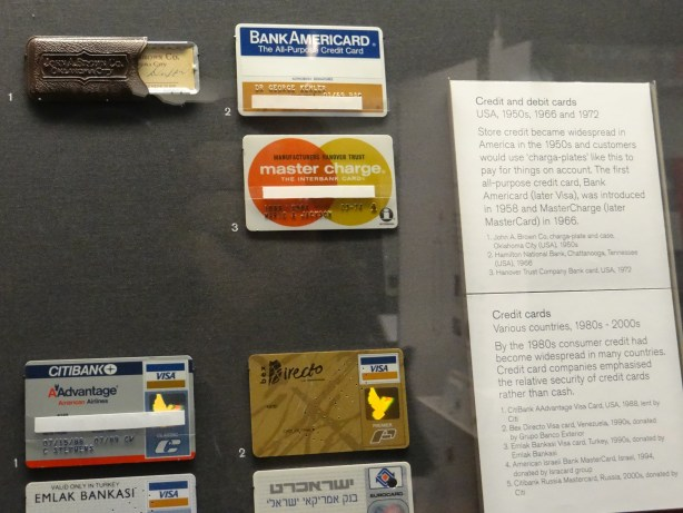 Credit card history at The British Museum