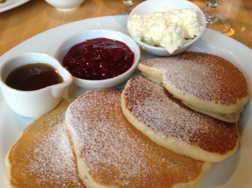 Westin Dublin pancakes