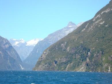 Milford Sound on South Island New Zealand