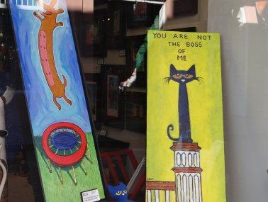 Dog and Cat art in New Orleans