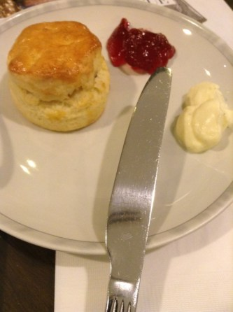 Scone at tea time Singapore Changi