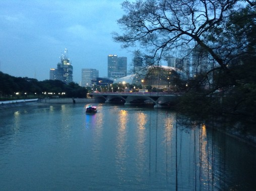 Singapore at Twilight