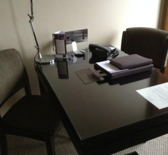 Sofitel Melbourne desk