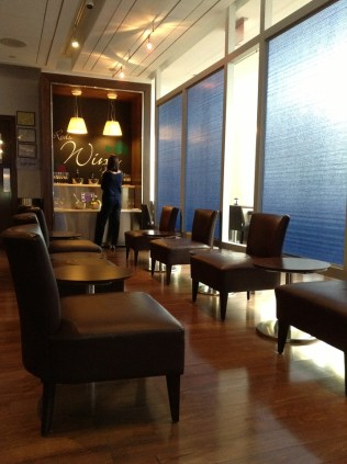 British Airways Lounge PHL