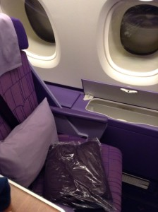 Thai A380 Royal Silk Business Class