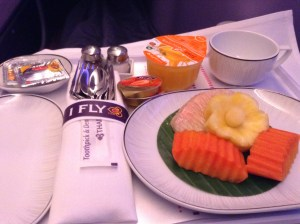 Thai A380 fruit plate