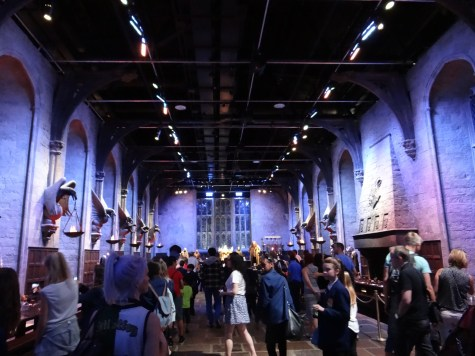 Harry Potter Studio Tour Great Hall