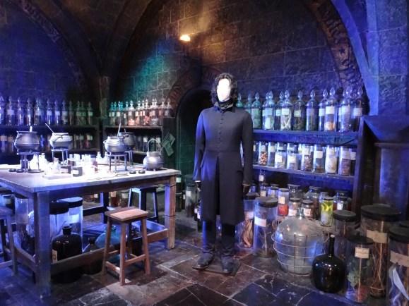 Harry Potter Studio Tours Potions classroom