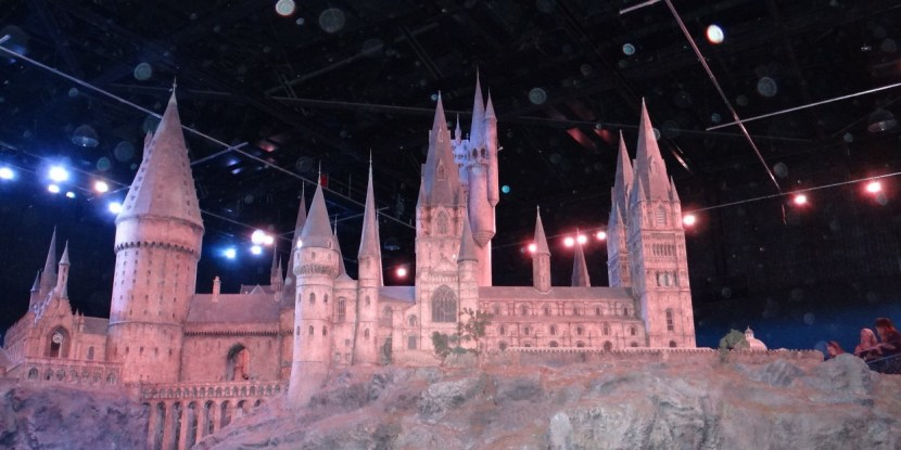Hogwarts working model at Harry Potter Studio tour