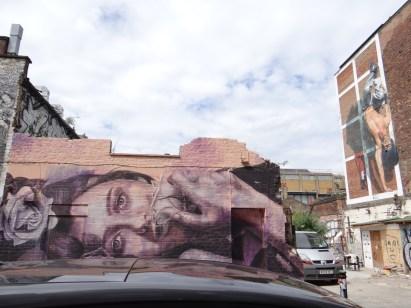 London Street Art r-o-n-e