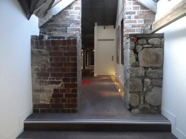 The Henry Jones Art Hotel hallway
