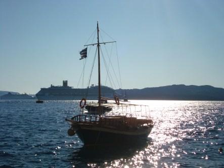 Greek Island Boat