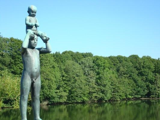 Father and Son Vigeland Sculpture Park