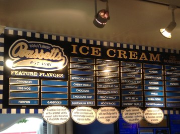 Bassett's Ice Cream Reading Terminal