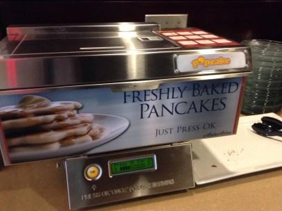Alaska Airlines Pancake Machine