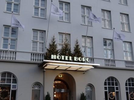 Hotel Borg Reykjavik Iceland boutique