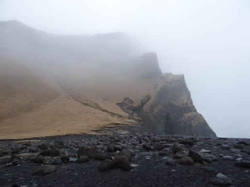 Black sand beach South Coast of Iceland Reynisfjara near Vik