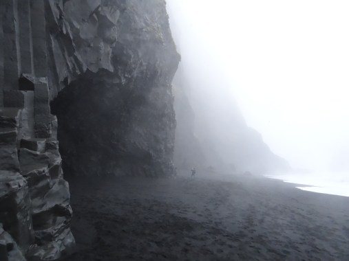 Black Sand Beach Cave - South Coast of Iceland tour GeoIceland