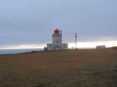 South Coast tour lighthouse Iceland