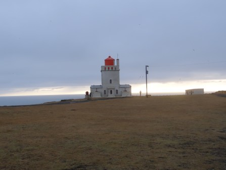 South Coast tour lighthouse Iceland