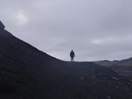 Solo Traveler Iceland Glacier
