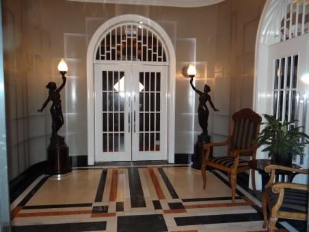 Hotel Borg Lobby Entrance