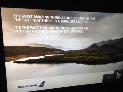 Icelandair IFE ad