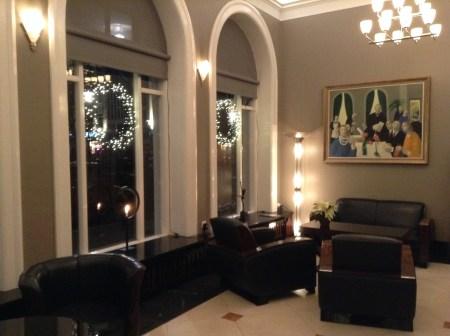 Hotel Borg Reykjavik Iceland lobby
