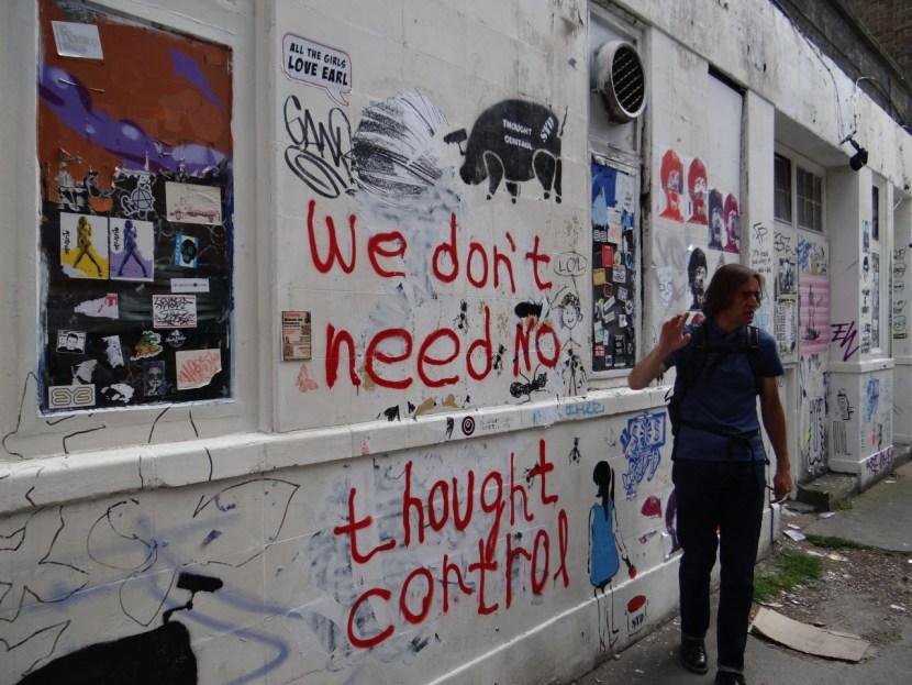 Street Art London Thought Control